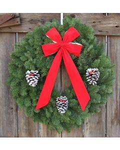 Noble Fir Classic Wreath